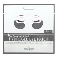 Гидрогелевые патчи BeauuGreen Sea Cucumber & Black Hydrogel Eye Patch